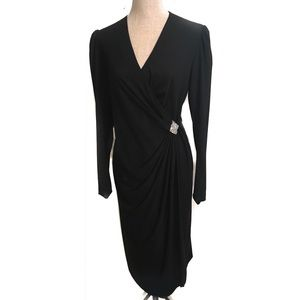 Beautiful vintage wrap dress